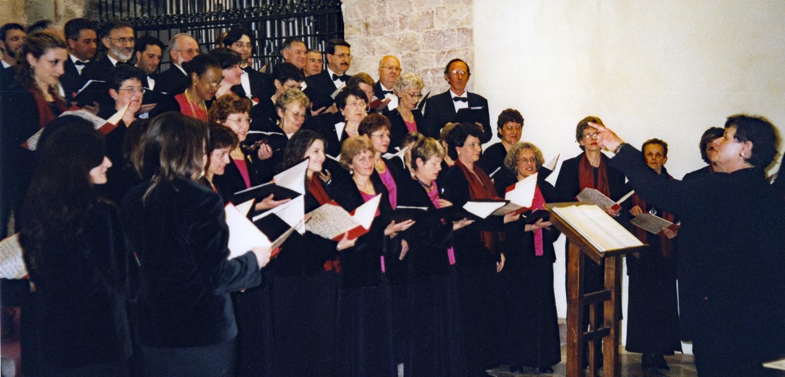 2002 - Concert en l'église Sainte-Marie Majeure d'Assise (Italie)