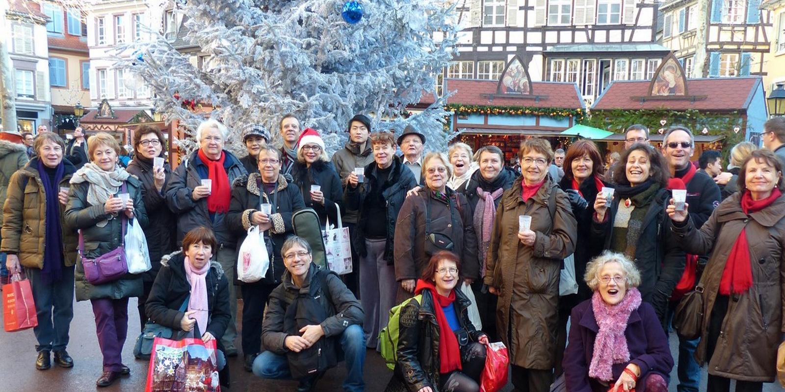 2013 - Colmar -Vin chaud sur le marché de Noël